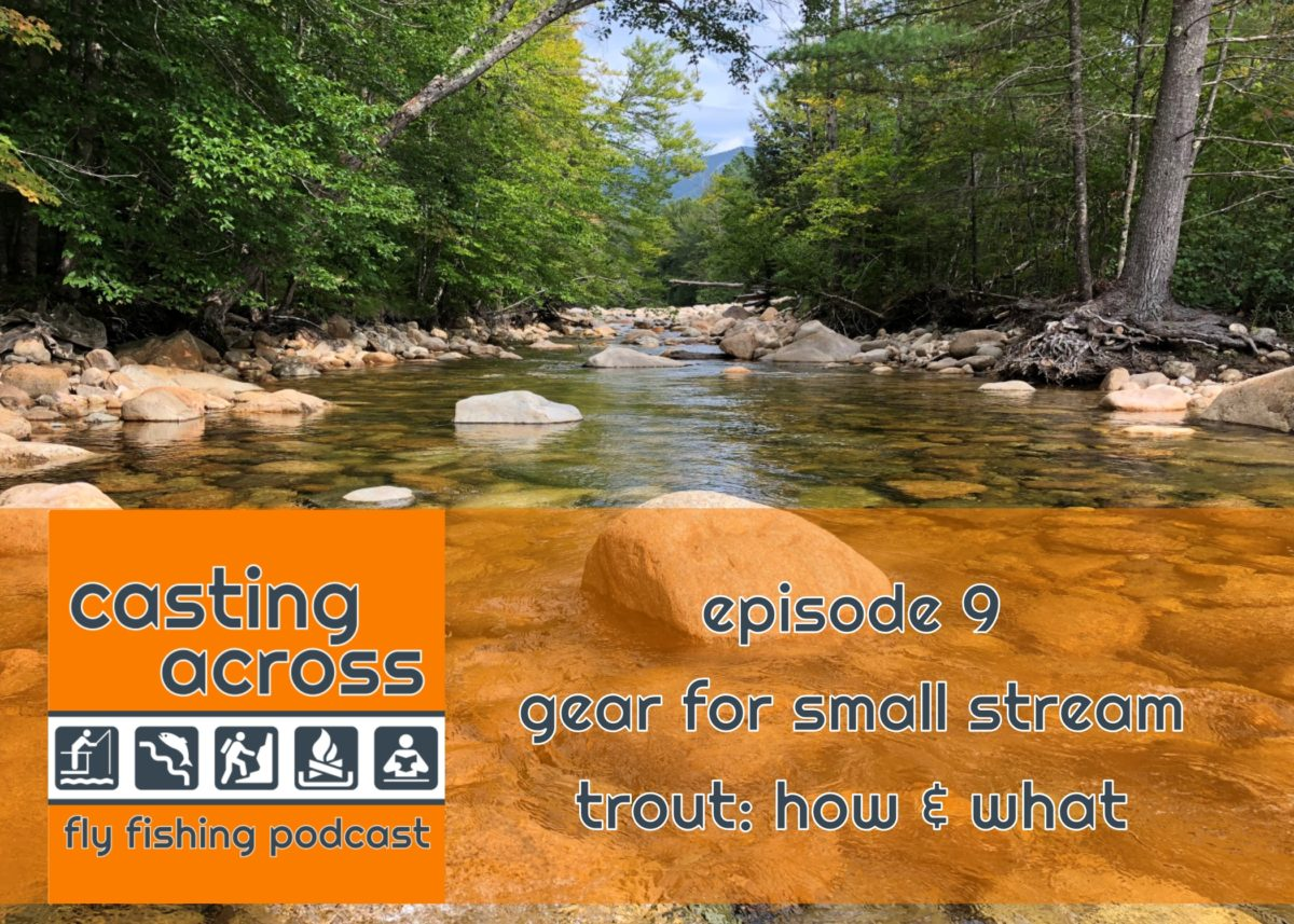 Podcast Ep. 9: Gear for Small Stream Trout - How & What