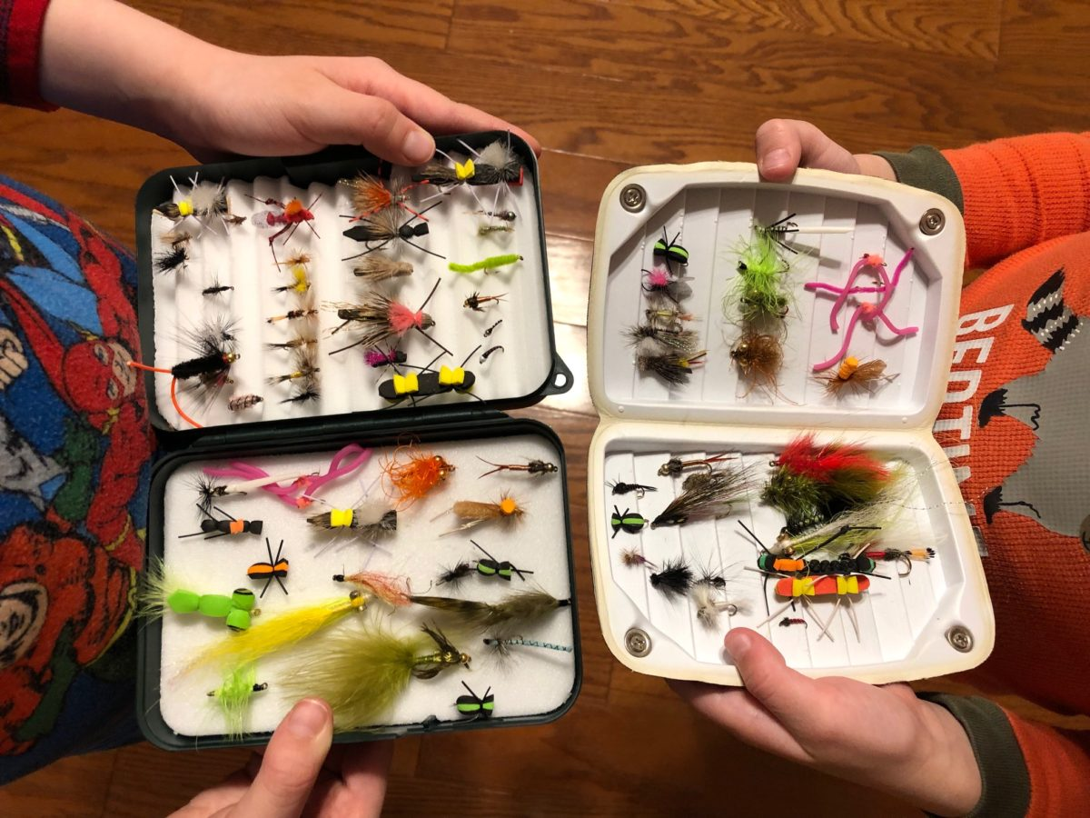 5 Reasons Why Your Kid Needs His/Her Own Fly Box